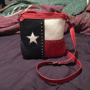 Texas star Montana West cross body